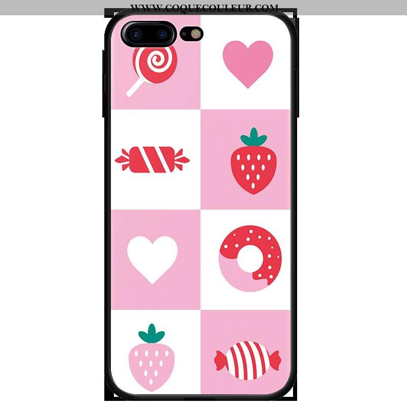 Coque iPhone 7 Plus Protection Étui Tout Compris, Housse iPhone 7 Plus Dessin Animé Téléphone Portab