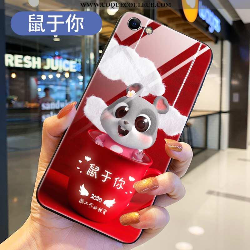 Étui iPhone 7 Silicone Incassable Nouveau, Coque iPhone 7 Protection Charmant Rouge