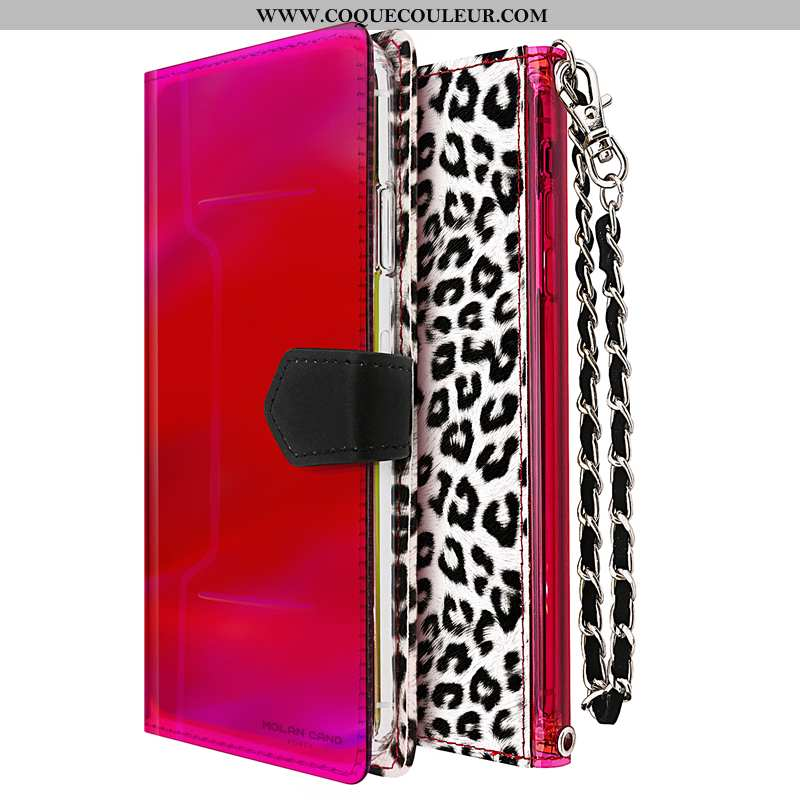 Coque iPhone 7 Tendance Rouge Coque, Housse iPhone 7 Cuir Luxe