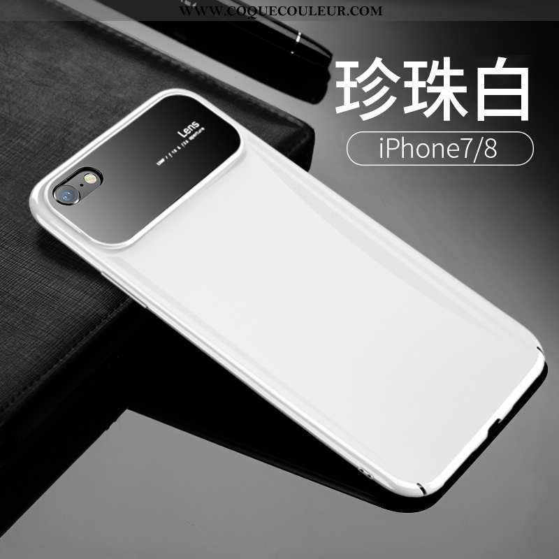 Coque iPhone 7 Légère Personnalité Tout Compris, Housse iPhone 7 Protection Transparent Blanche