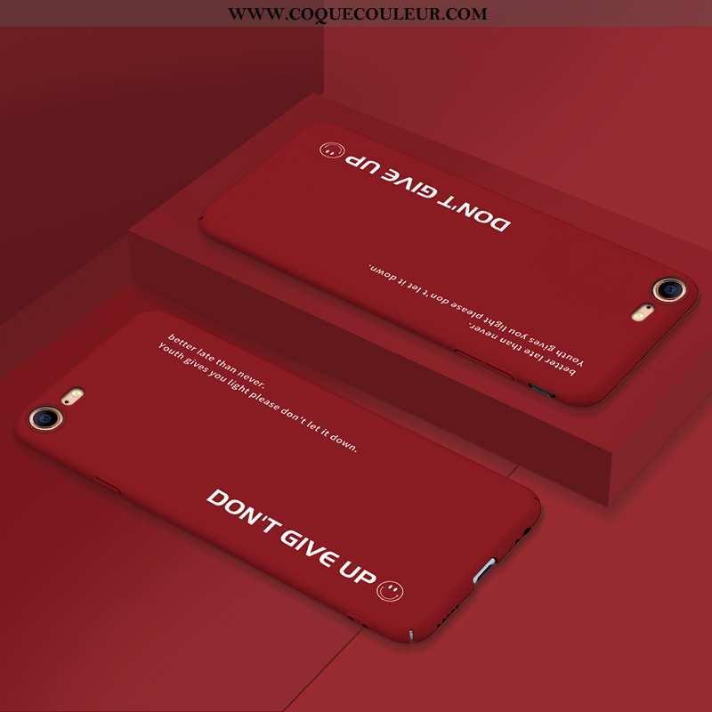 Housse iPhone 7 Délavé En Daim Pu Incassable, Étui iPhone 7 Ultra Difficile Rouge