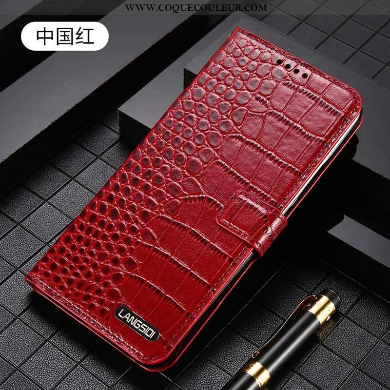 Housse iPhone 7 Cuir Luxe Tout Compris, Étui iPhone 7 Protection Business Bordeaux