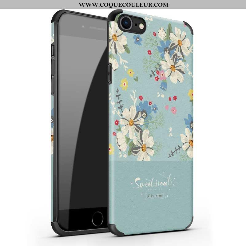 Coque iPhone 7 Tendance Fluide Doux, Housse iPhone 7 Légère Nouveau Verte