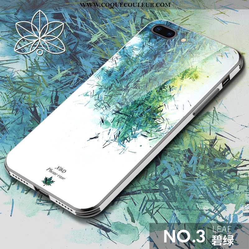 Housse iPhone 8 Plus Ultra Créatif Nouveau, Étui iPhone 8 Plus Tendance Art Verte