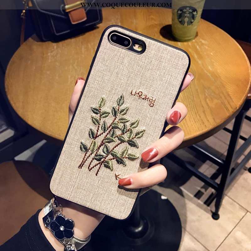 Coque iPhone 8 Plus Ornements Suspendus Téléphone Portable, Housse iPhone 8 Plus Créatif Incassable