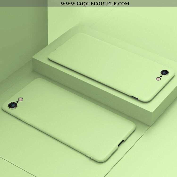 Housse iPhone 8 Protection Coque Téléphone Portable, Étui iPhone 8 Vert Verte