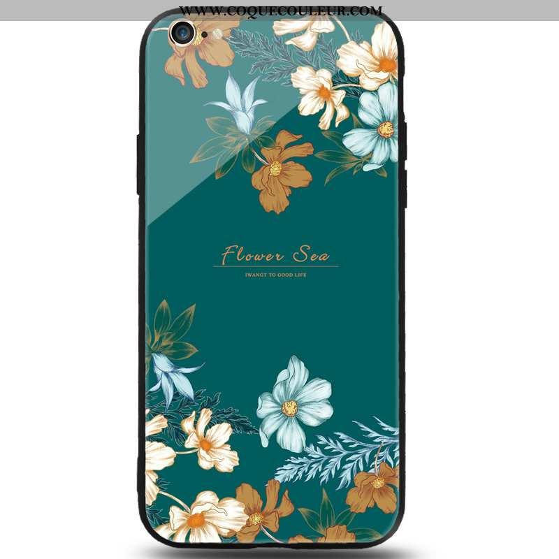 Housse iPhone 8 Mode Vert Frais, Étui iPhone 8 Protection Téléphone Portable Verte
