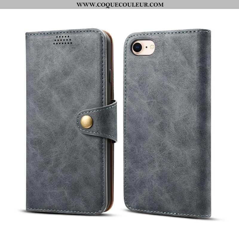 Étui iPhone Se (nouveau) Cuir Téléphone Portable Coque, Coque iPhone Se (nouveau) Protection Tout Co