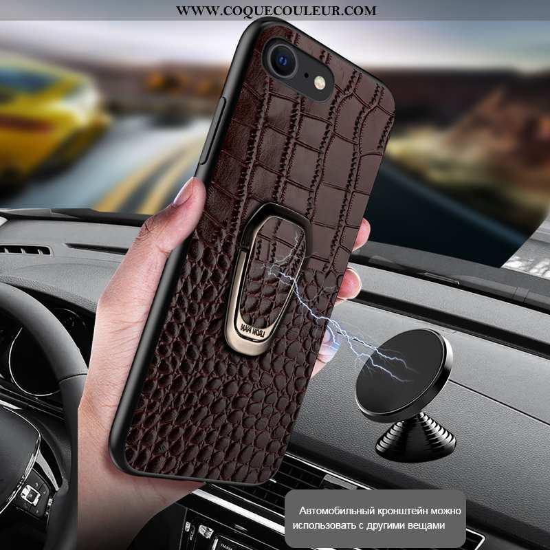 Housse iPhone Se (nouveau) Cuir Véritable Personnalisé, Étui iPhone Se (nouveau) Protection Ultra Ma
