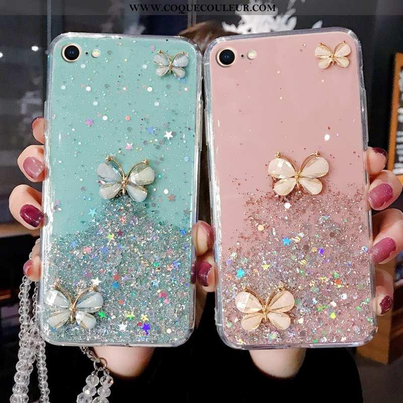Étui iPhone Se (nouveau) Protection Tempérer Bleu, Coque iPhone Se (nouveau) Luxe Bleu