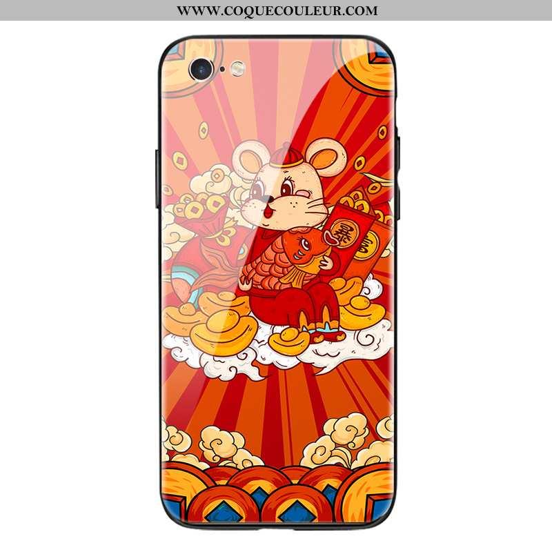 Étui iPhone Se (nouveau) Fluide Doux Miroir Téléphone Portable, Coque iPhone Se (nouveau) Silicone I