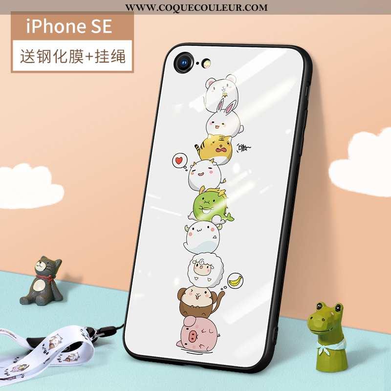 Étui iPhone Se (nouveau) Ornements Suspendus Légère Nouveau, Coque iPhone Se (nouveau) Dessin Animé