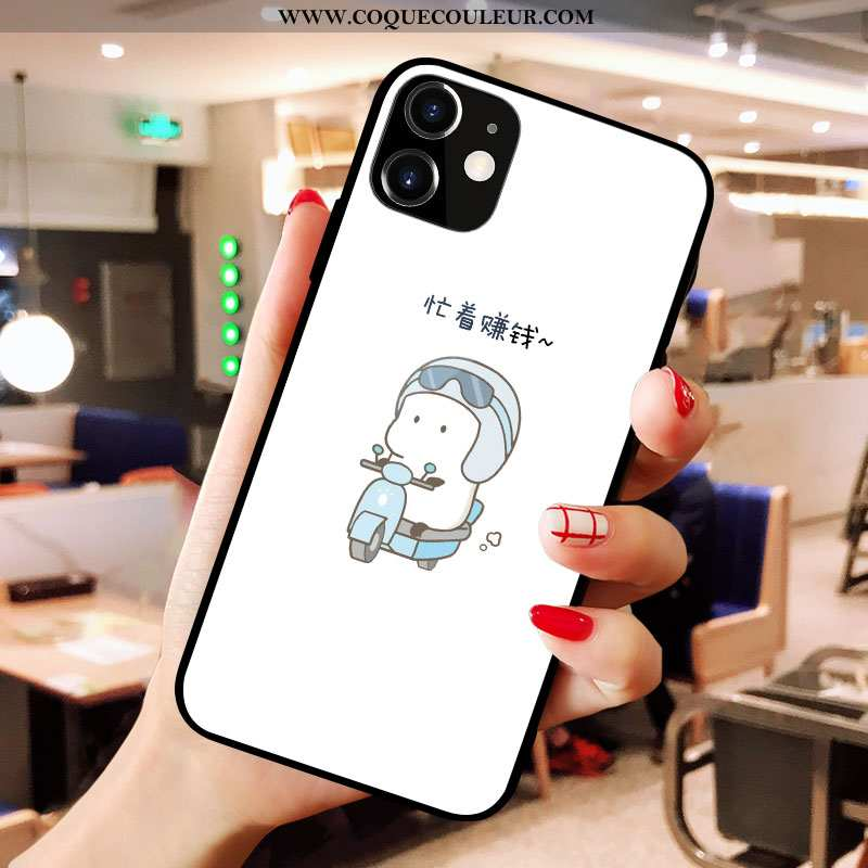 Coque iPhone X Créatif Silicone Blanc, Housse iPhone X Charmant Amoureux Blanche