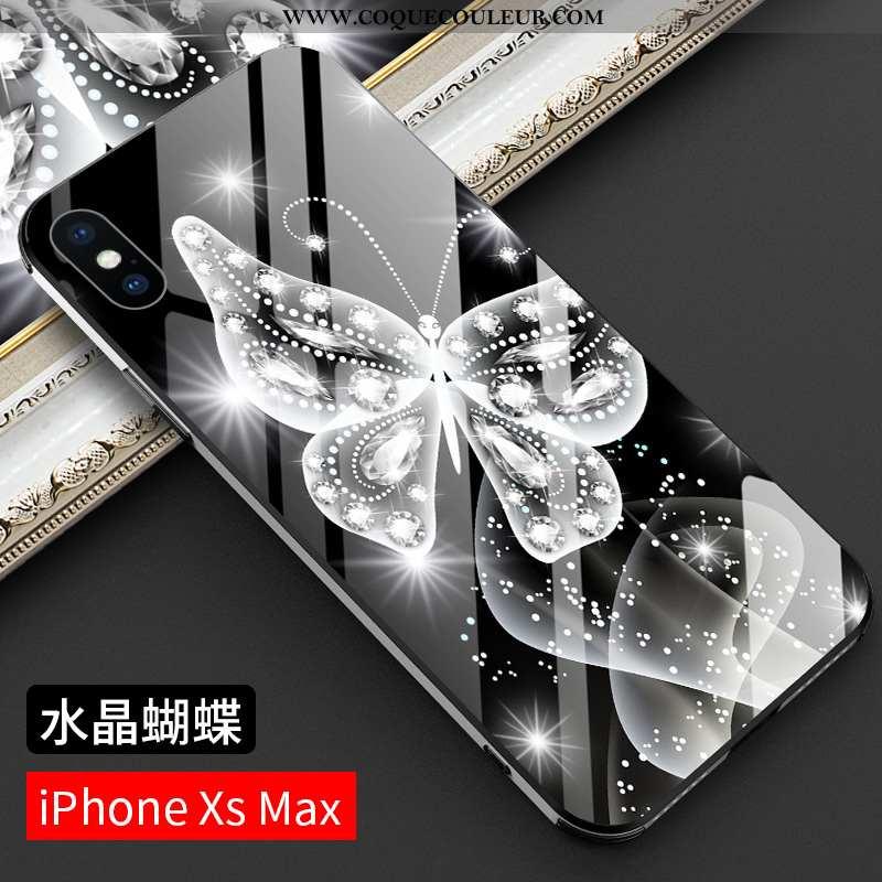 Coque iPhone Xs Max Légère Étui, Housse iPhone Xs Max Silicone Incassable Noir