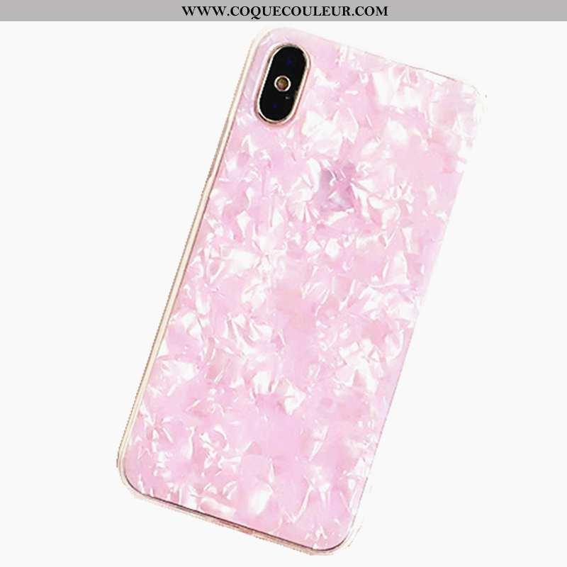 Étui iPhone Xs Max Tendance Coque Incassable, iPhone Xs Max Rose Coquille