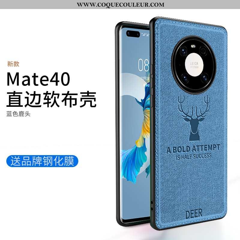 Étui Huawei Mate 40 Protection Téléphone Portable Tout Compris, Coque Huawei Mate 40 Délavé En Daim