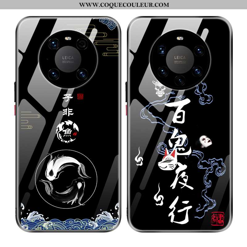 Coque Huawei Mate 40 Tendance Tout Compris Coque, Housse Huawei Mate 40 Silicone Téléphone Portable