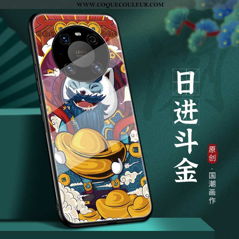 Housse Huawei Mate 40 Tendance Téléphone Portable Style Chinois, Étui Huawei Mate 40 Légère Ultra Ro