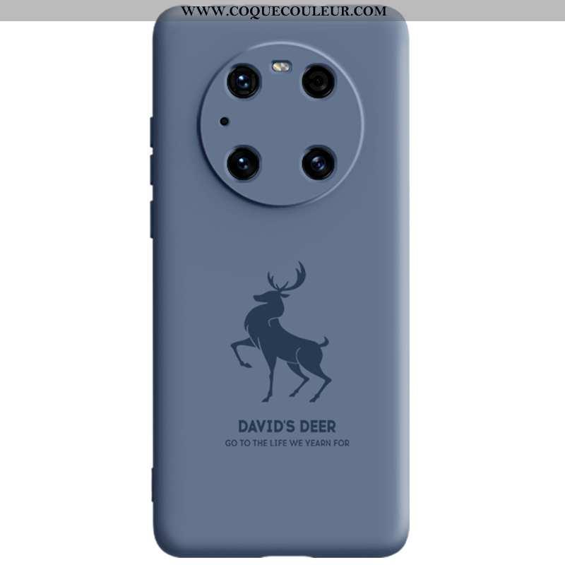 Housse Huawei Mate 40 Pro Protection Magnétisme Bleu, Étui Huawei Mate 40 Pro Silicone Bleu