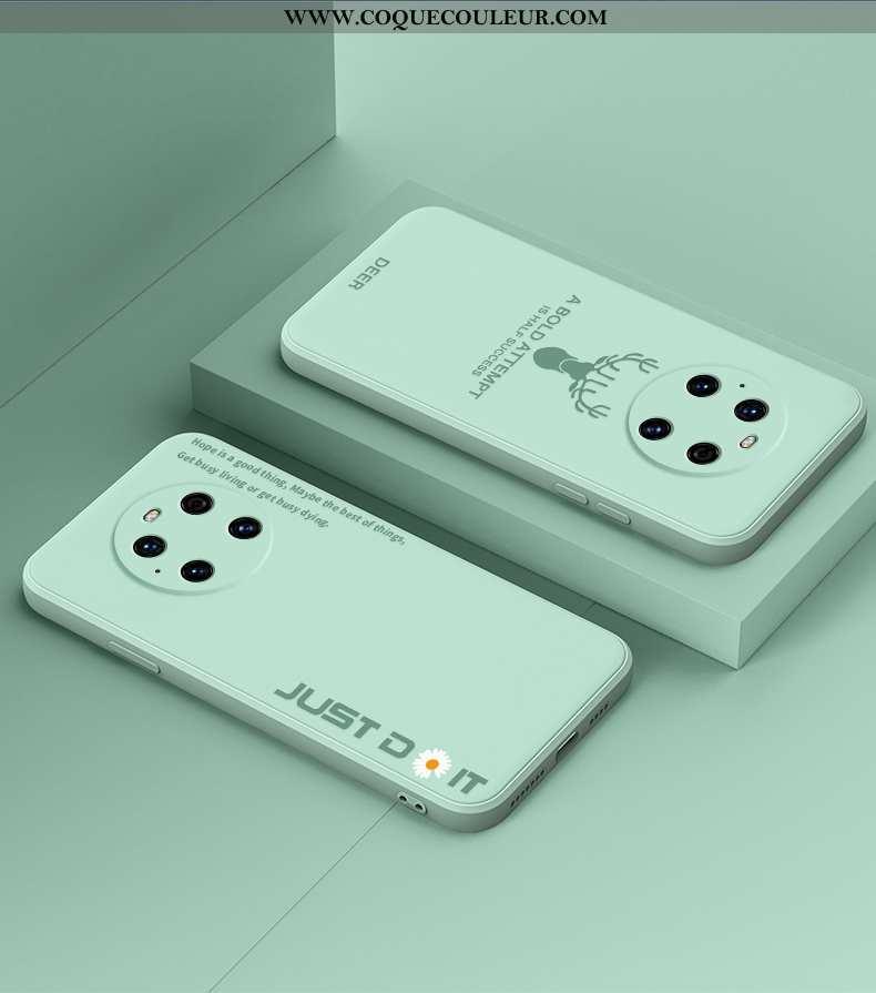 Housse Huawei Mate 40 Pro Créatif Incassable Nouveau, Étui Huawei Mate 40 Pro Fluide Doux Verte