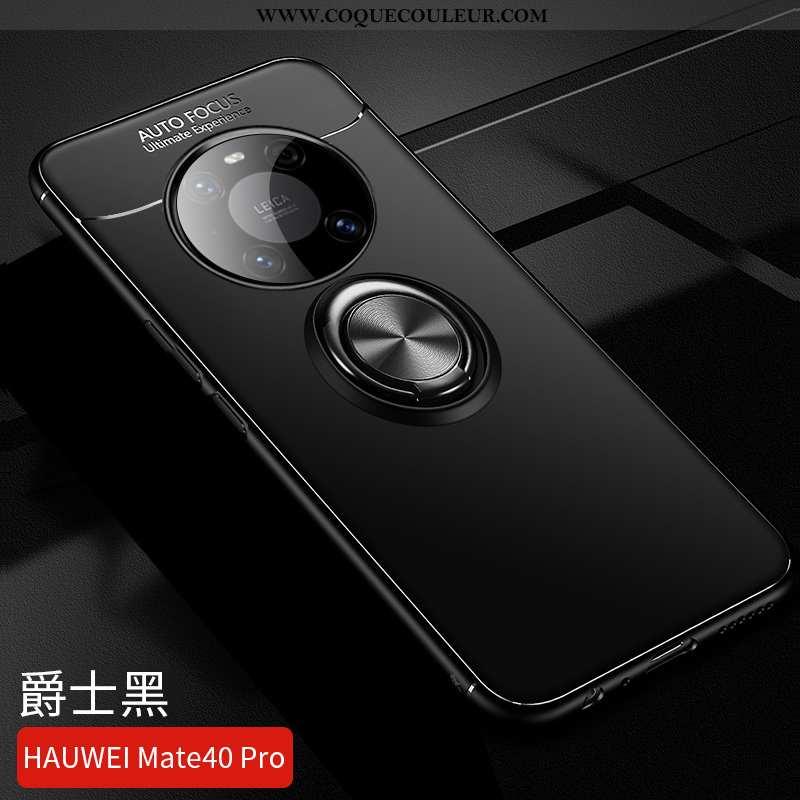 Housse Huawei Mate 40 Pro Tendance Incassable Magnétisme, Étui Huawei Mate 40 Pro Légère Noir