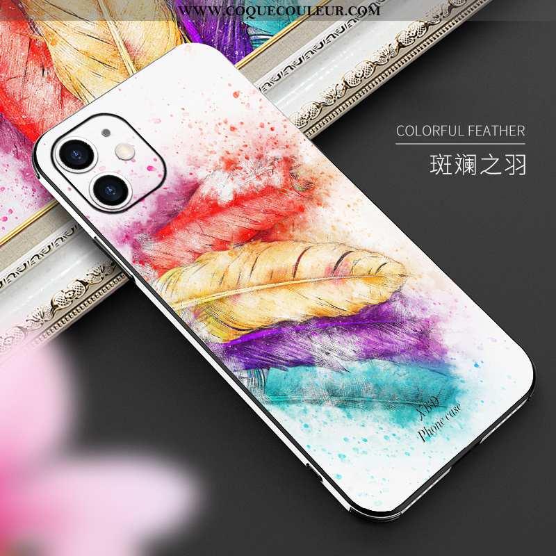 Étui iPhone 12 Mini Personnalité Nouveau Coque, Coque iPhone 12 Mini Créatif Téléphone Portable Colo