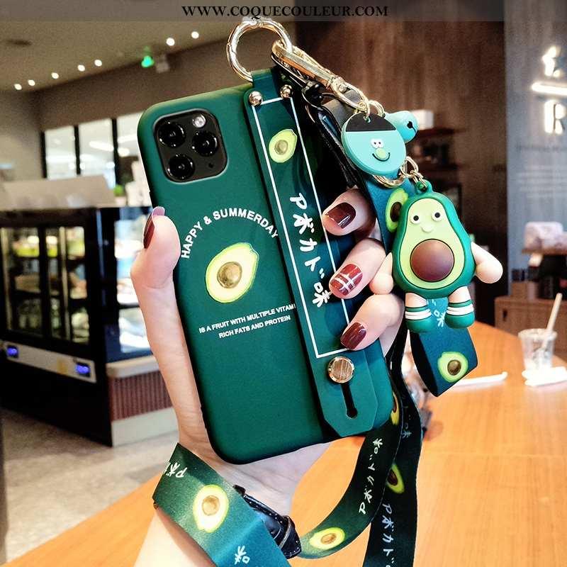 Étui iPhone 12 Pro Max Mode Frais Fluide Doux, Coque iPhone 12 Pro Max Protection Bovins Verte