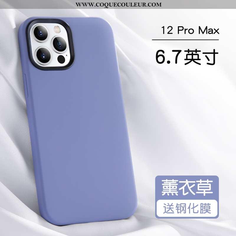 Étui iPhone 12 Pro Max Protection Silicone Tout Compris, Coque iPhone 12 Pro Max Personnalité Incass